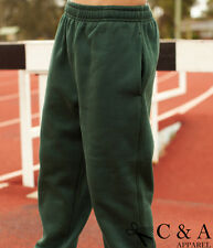 Kids Boys Girls Elastic Waist Casual Sports Track Pants Trousers Wear 3 Pockets