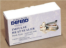 Desk Type IMPULSE Heat Sealer - use this for seal the