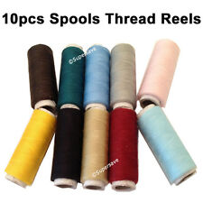 Sewing polyester thread machine reels spool cord string rope Black White Colours