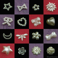 Pearl Beads Decoration for Scrapbook Crafting - Nail Art / Paper Craft