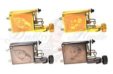 Pro Rotary Tattoo Machine/Gun- Tiger & Skull Designs - UK Seller!!