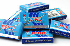 LORD Super Chrome Stainless Double Edge Razor Blades