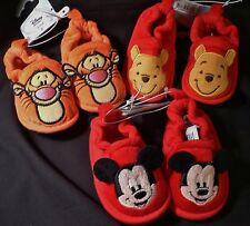 MiCkEy MoUSe~WiNNiE PooH~TiGGeR~INFANT~Costume~SLIPPERS~BABY~0-24M~Disney Store