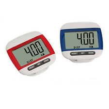 LCD Multifunction Pedometer Walking Step Distance Calorie Calculation Counter Fa