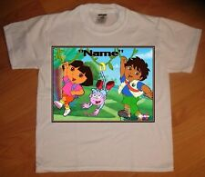 """""""Dora and Diego"""" Personalized T-Shirt - NEW"""