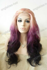 """18""""-28"""" Synthetic Lace Front Wig new women's Front Lace Full wig T3"""