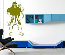 LION WIZARD OF OZ WALL ART DECAL STICKERS WALL ART CHOOSE FROM 21 COLOURS