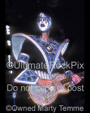 Ace Frehley Photo Kiss 16x20 Inch Concert Photo 1970s by Marty Temme 1A LP Jr