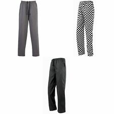 Premier Chef Essential Unisex Chefs Pull-on Trouser Catering Workwear