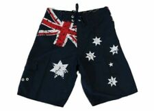 Adult Mens Board Shorts Australian Australia Day Souvenir Beach Shorts – Flag