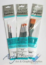 Winsor & Newton Foundation™ Water Colour Brushes - choice of brush packs