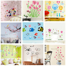 PVC Vinyl Removable Kid's Room DIY Home Decor Wall Poster Stickers Decal Mural
