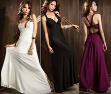 2013 New Sexy Women Long Formal Evening Party Prom Ball Dress Gown Wedding