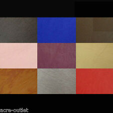 FAUX LEATHER VINYL UPHOLSTERY FABRIC LEATHERETTE **FIRE RETARDANT** MATERIAL