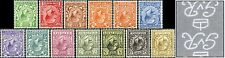 1912-24 KGV Royal Cypher Definitives WATERMARK INVERTED