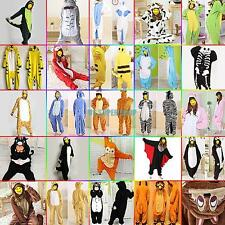 Hot Kigurumi Pajamas Anime Cosplay Costume Unisex Adult Animal Onesie Dress S-XL