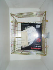 Letter Box Cage-----Zinc Plated Metal-----35 x29 x15 cm---with fixings