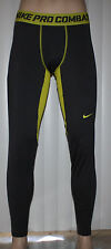 Nike PRO COMBAT Hyperwarm Dri-Fit Base Layer Fitted Tights Pants*sz choices SALE