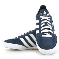 ADIDAS SAMBA ORIGINAL SUEDE MENS BLUE FOOTBALL FASHION CASUAL TRAINERS SHOES UK