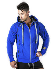 STRONG LIFT WEAR Mens Gym Training Hoodie, Zip ,Jacket, Sweater, Workout, Top
