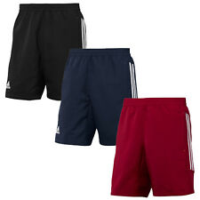NEW ADIDAS T12 MENS WOVEN 3 STRIPES CLIMALITE LIGHTWEIGHT ELASTIC WAIST SHORTS