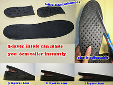 Men's Height Increase Elevator Shoes Insole
