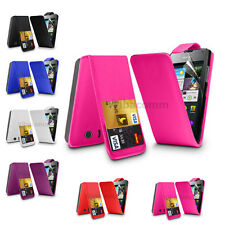 NEW FLIP LEATHER SERIES CASE COVER HUAWEI ASCEND Y300 + SCREEN PROTECTOR
