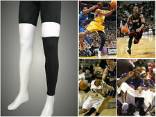Basketball Cycling Golf Bike Outdoor Sports UV Protect Stretch Leg Sleeve Warmer