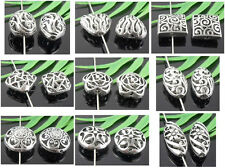 Free Ship 10Pcs Tibetan Silver(Lead-Free) Hollow Spacer Beads Optional