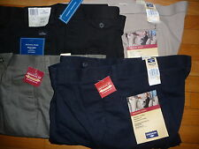 DOCKERS Mens Pants Wrinkle Free Casual ORIGINAL Khaki Cotton Pleated Cuffed NWT