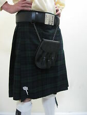 Black Watch Tartan Scottish Kilt   Waist Sizes 30 - 52