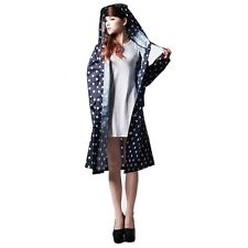 Fashion Women Girls Waterproof Clothes Raincoat Dot rainwear rain Riding Clothes
