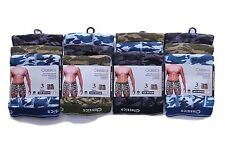 6 Pairs Calvin Camo Camouflage Boxers Boxer Shorts Underwear Trunks