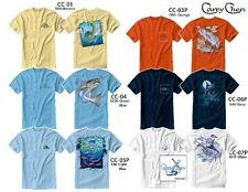 CAREY CHEN FISHING TSHIRT T-SHIRT ART SALTWATER BEACH LIFE PAINTINGS CHOOSE SIZE