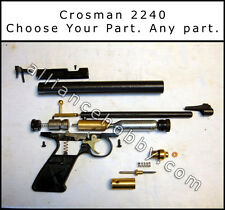 Crosman 2240 - CHOOSE YOUR PART - Sight Valve O-Ring Breech Barrel Frame Grip