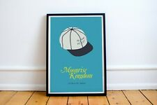 MOONRISE KINGDOM Poster - Island Police - Wes Anderson bill murray rushmore