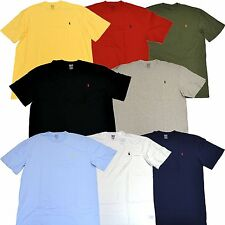 Polo Ralph Lauren Big And Tall T-shirt Tee Mens Crew Neck Classic Fit B & T New