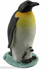 Penguin with Chick - Penguins Ornament - Seaside - Nautical - Christmas