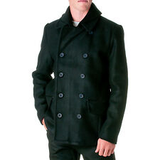 JORDAN CRAIG Men's Wool Blend Double Breasted Peacoat