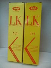 LK MILANO  1:1 HAIR COLOR(YELLOW BOX)~3.5 oz~U PICK~FREE SHIPPING IN THE USA!!!
