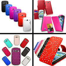 New Samsung Galaxy Fame S6810 Flip Wallet S Line Jelly Sparkling Hard Case Cover