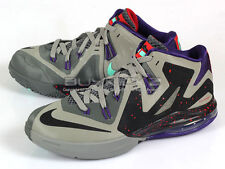 Nike Ambassador VI 6 Terracotta Warrior Mine Grey/Black-Purple Lebron 615821-004