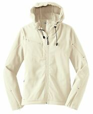 Ladies Textured Hooded Soft Shell Jacket by Port Authority-L706