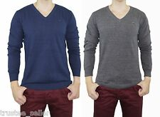 NWT DIESEL K - BEN Sweater Long Sleeve Vneck Shirt Blue Grey Men's Top S M L XL