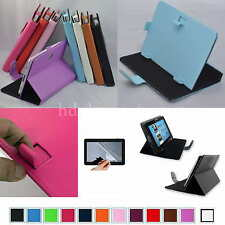 "Colorful Magic PU Leather Case+Free Film For 9"" ZTO 9-Inch Android 4.1 Tablet PC"