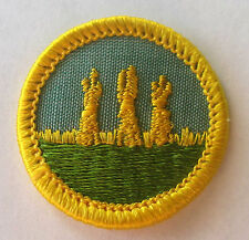 Girl Scout 1963-80 Cadette OUTDOOR SAFETY BADGE, CHOOSE Farming Hay Stacks Patch