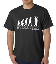 GOLF, PLAYER, EVOLUTION,  T SHIRT, Christmas / Birthday Gift, FUNNY, JOKE