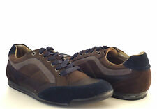 Calvin Klein Men's Alfonso Fashion Sneakers Dark Brown/Dark Navy