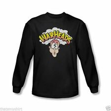 New Authentic Mens Warheads Candy Logo Long Sleeve Tee Shirt Size S-2XL
