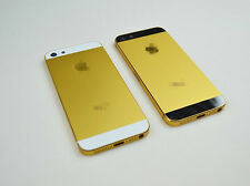 New alloy metal replacment back battery housing cover case for iphone 5 5G